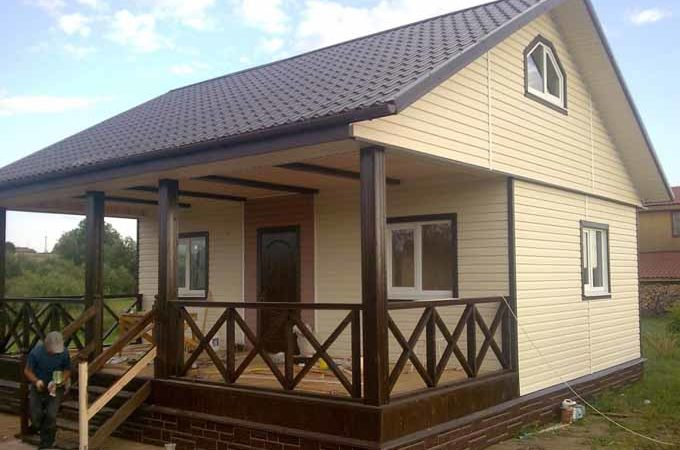 Из чего построить дешевый дачный дом
