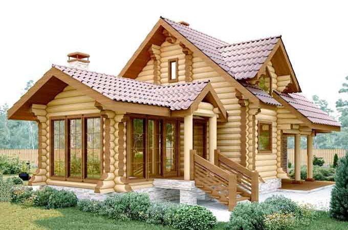 Особенность строительства домов из дерева